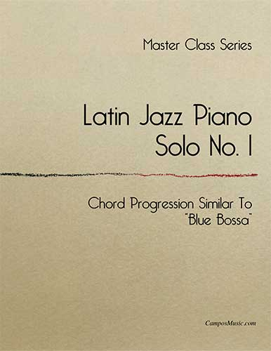 Campos Music - Latin Jazz Piano, Solo No  1