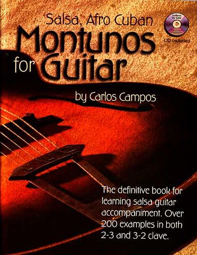 Food Book Cover Guitar : Campos music salsa afro cuban montunos for guitar